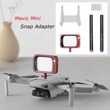 Snap Adapter Aansluiting Houder Connector LED Display voor DJI Mavic Mini Drone Originele Onderdelen Accessoires