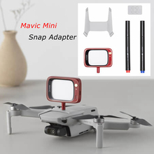 Snap Adapter Verbindung Halter Halterung Stecker LED Display für DJI Mavic Mini Drone Original Teile Zubehör