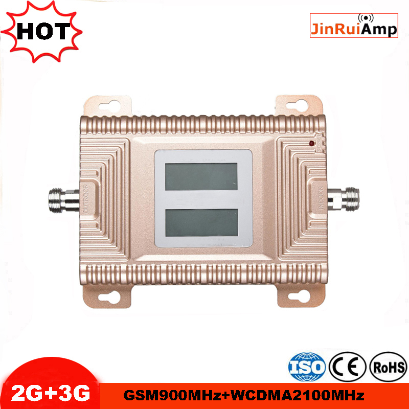 GSM 3G Repeater Dual Band GSM 900 MHz 2100 MHz WCDMA UMTS Repetidor 3G Antenna Signal Amplifier 2G 3G Cell Phone Booster Sets image