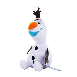 Image 5 - 20cm Disney Olaf Frozen 2 Plush Dolls Little Toys Sven Stuffed Animals Figures Collection for Children Birthday Christmas Gift
