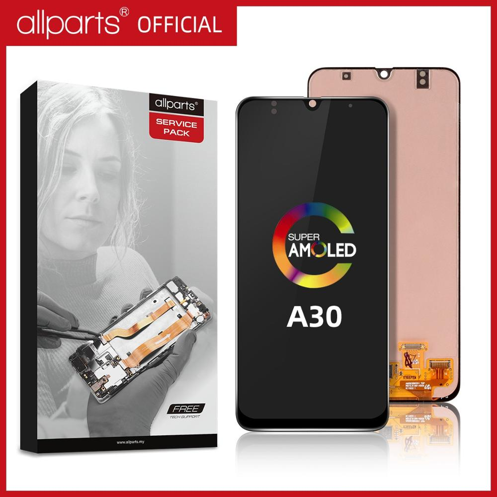 SUPER AMOLED <font><b>LCD</b></font> Display for <font><b>SAMSUNG</b></font> GALAXY <font><b>A30</b></font> A305/DS A305F A305FD A305A Touch Screen Digitizer Assembly For <font><b>Samsung</b></font> <font><b>A30</b></font> <font><b>LCD</b></font> image