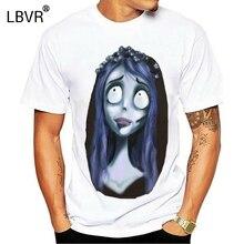 Corpse Bride T Shirt Miss Emily Corpse T-Shirt Fashion Man Tee Shirt Big Awesome 100 Cotton Short Sleeves Print Tshirt