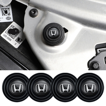 4Pcs Car Door Shock Absorption Gasket Stickers For Honda Civci FIT Accord Prelude CRV 5th City CRZ CRX Jazz HRV Pilot Odyssey