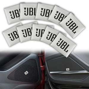 10Pcs car-styling JBL Car Audio decorate For BMW E46 E39 E90 E60 E36 F30 E34 X5 E53 E30 F20 E92 E87 M3 M4 M5 X5 X6 car sticker(China)