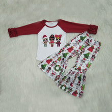 Children Boys & Girls Baby Clothes Sets, Baby Infant Christmas Kids Clothing Set, Autumn Baby T-shirt + Pants Outfits недорого