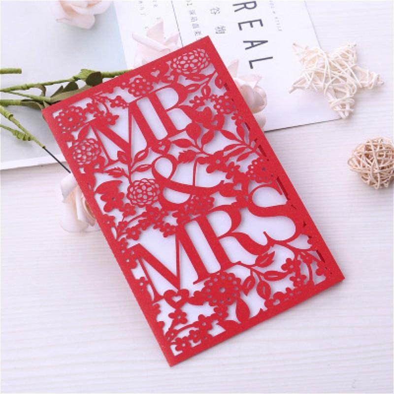 1 шт. Красный Белый Элегантный лазерная резка свадебные пригласительные открытки открытка на заказ бизнес Декор вечерние принадлежности|Открытки и приглашения|   | АлиЭкспресс