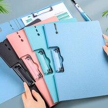 Ретро-С Двойным Зажимом Morandi A4 папка для документов письменная доска органайзер для документов дневник планировщик канцелярские принадлеж...