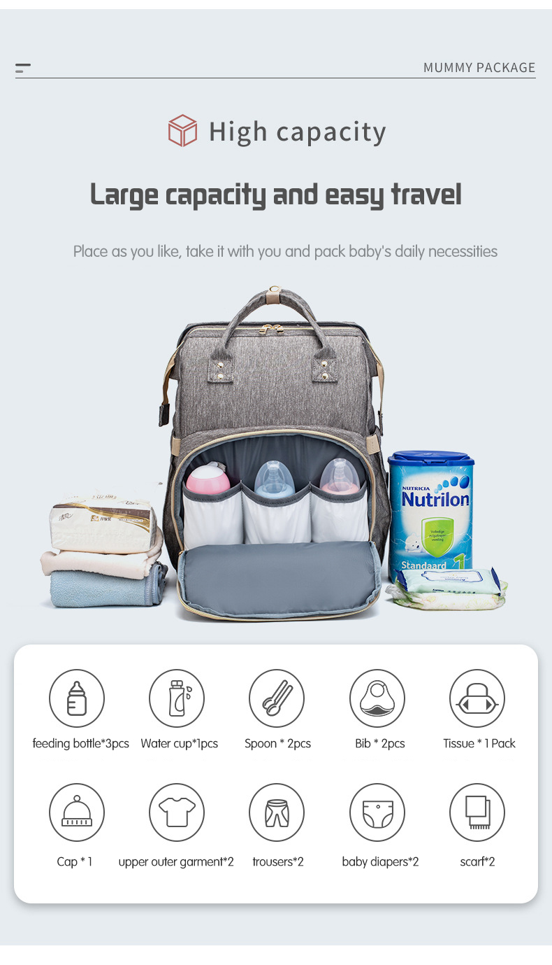 Diaper Bag Backpack (6)