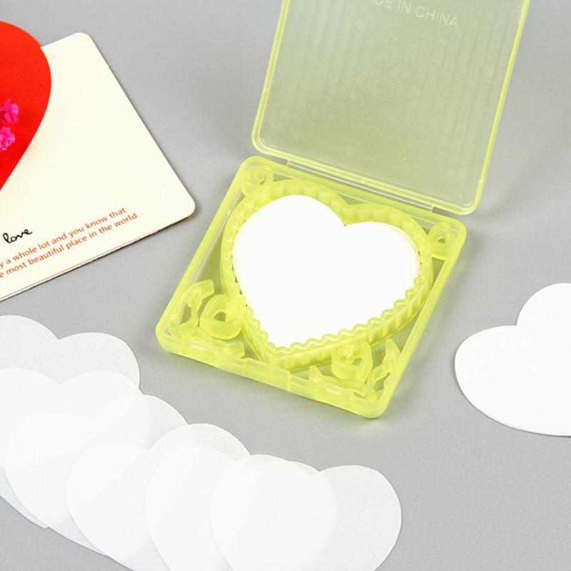 20шт портативный сердце форма бумага мыло одноразовые с мылом коробка мини мыло PaperTravel ванна мыло бумага ручная стирка мыло