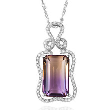 S925 Sterling Silver Necklace Pure Amethyst Stone Pendant for Women Luxury Real Silver 925 Jewelry Gemstone Pierscionki Pendants szjinao silver pendant for women real 925 sterling silver amethyst pendants necklace statement womens jewelry crystal gemstone