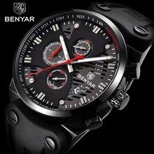BENYAR Business Watches For Men Sports Wrist Watch Luxury Si