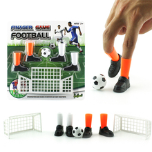 Горячие настольные интерактивные спортивные игры Fingertip футбольный комплект игры Милый Забавный палец футбол игра игрушка для детей настольные игры