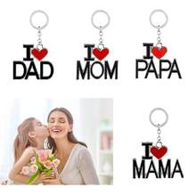 SOLEDI #30(DAD) Creative Backpack Gift Car Key Ring Mama Beautiful Spouse Trinket Papa Style Fashion Family Father'S Day(China)