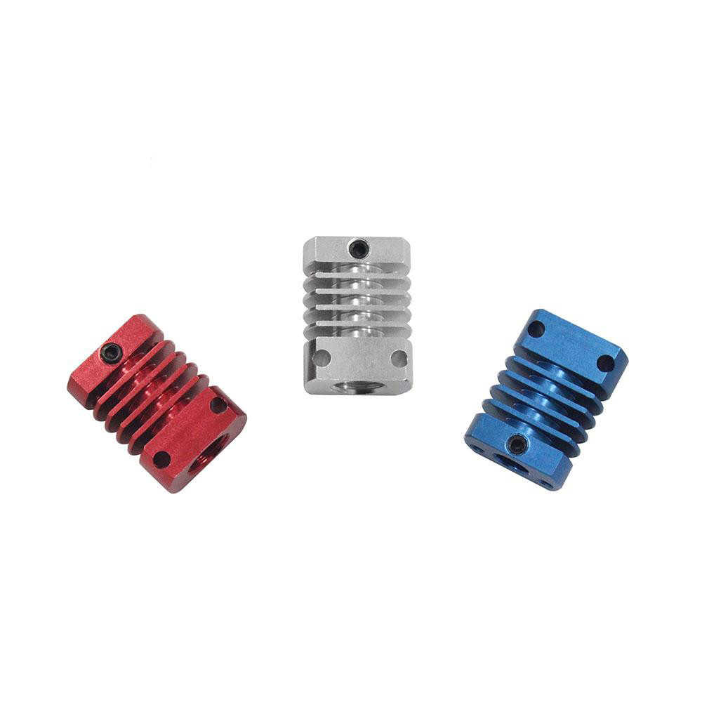 MK10 V6 ısı emici radyatör Fit 22mm soğutma fanı kırmızı alüminyum yüzgeçler boyutu 27x20x12mm sıcak CR8/CR10