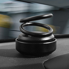 Car Double Ring Rotating Aromatherapy Rotary Aroma Auto Decoration Air Freshener Metal 5.8*7.5CM