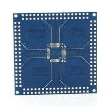 Adaptateur QFP/TQFP/LQFP 32/44/48/64/100/144 broches à DIP pin Board convertisseur