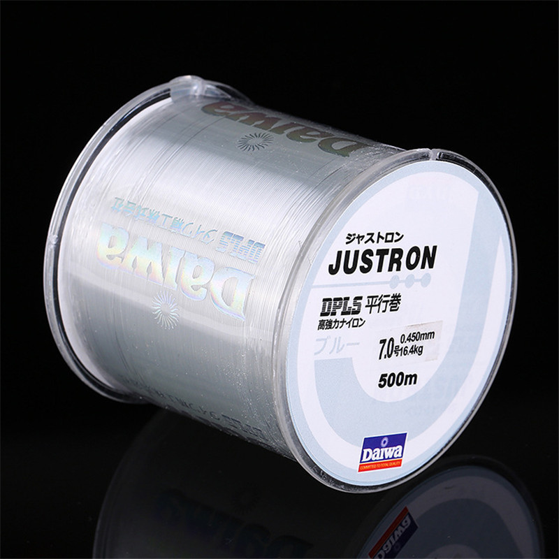 500M Nylon Fishing Line Japanese Durable Fluorocarbon Sea Fishing Line Thread Bulk Spool All Size
