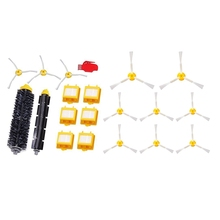 20 Pcs Clean Accessories for IRobot Roomba Robotic Vacuum Cleaner: 8 Brushes 800 and 900 Series & 12 Filter Set