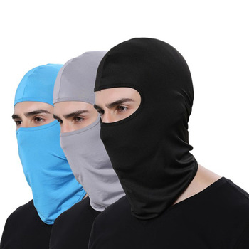 NEW Motorcycle Face Masks Motorcycle Headgear Full Face Mask Summer Breathable Motorcycle Sun-protection Balaclava