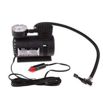 1pcs Universal Portable Versatile 12V Auto Car Electric Air Compressor Bicycle Motor Wheel Tire Tyre Infaltor Pump 300 PSI XR image