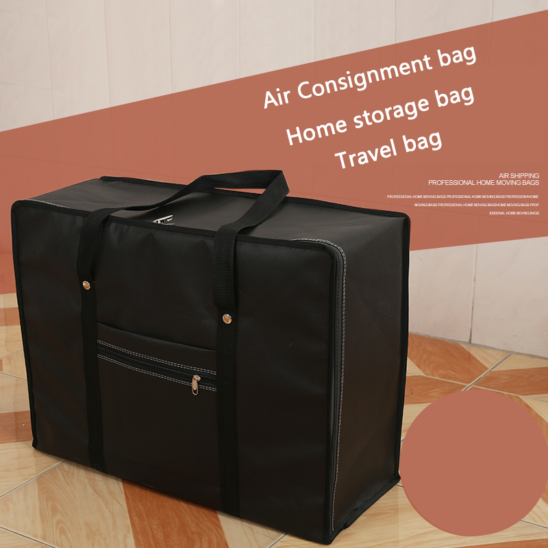 Extra-large waterproof and thickened travel bag, large-capacity bag, large-capacity luggage, air bag, postage, free of postage.