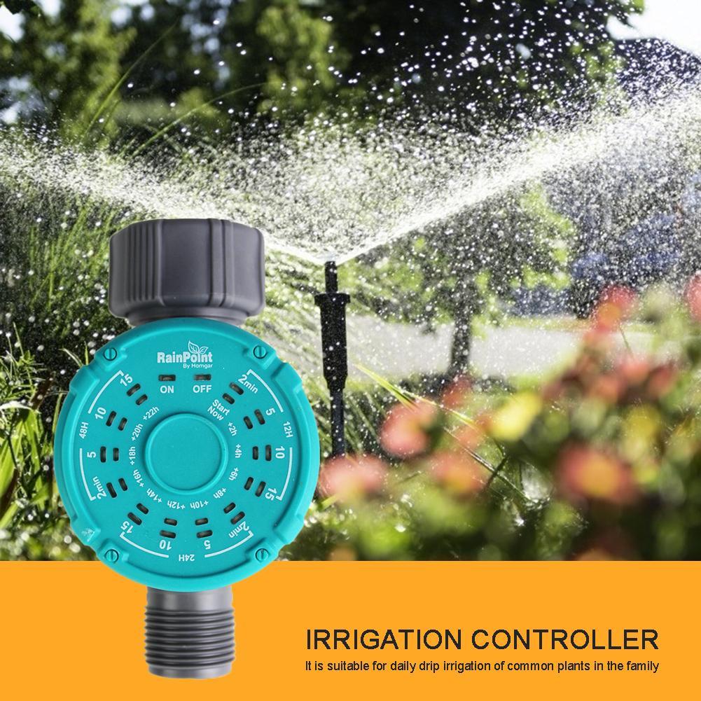 Hause Ball Ventil Wasser Timer Garten Bewässerung Bewässerung Timer Controller Gebaut In Membran Batterie Ventil