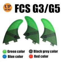FCS G3/G5 Quilhas Fins Surfboard Fin Honeycomb Fibreglass 4 color