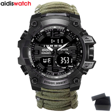 Top Brand AIDIS Men Military Watch Fashion Outdoor Compass Waterproof