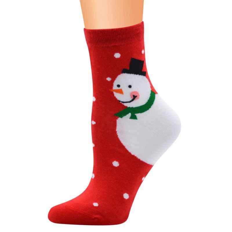 Esporte Meias De Algodão Bonito Unisex Meias Impressão Preative Meias De Natal Dos Desenhos Animados Skate Socks1 Moda Nova