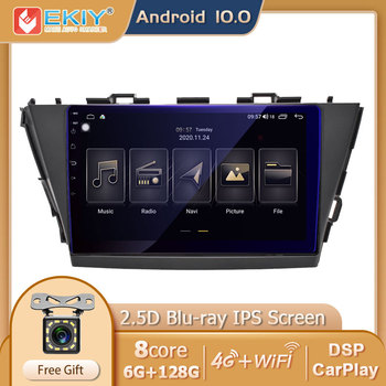 EKIY 6G+12G DSP For Toyota V Plus Prius Alpha 2012-2015 Android 10 Car Radio Multimedia Video Player Navigation GPS No 2 Din DVD image