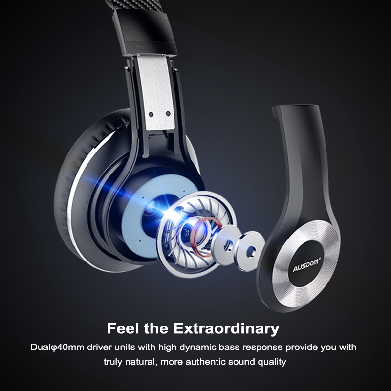 Ausdom ANC10 Wireless Headphone 2