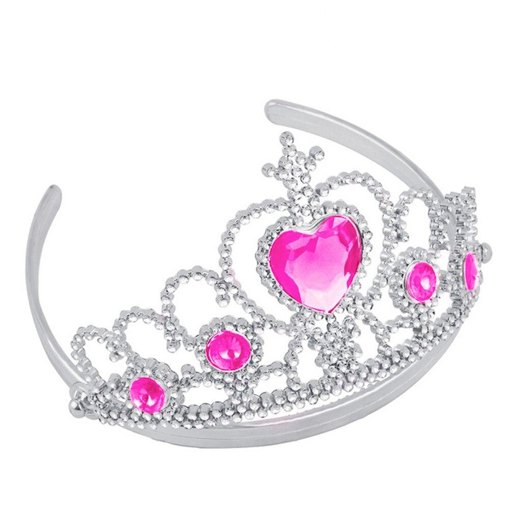 2 шт., вечерние аксессуары принцессы тиара для девочек, детские алмазные короны+ волшебные палочки, праздничный подарок на Рождество, косплей, вечерние игрушки