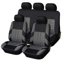 Universal Embroidery Car Seat Covers Set For CITROEN all models C2 C3 C3 XR C4 Aircross 5seat C5 C6 DS3 DS4 DS5 Left driving