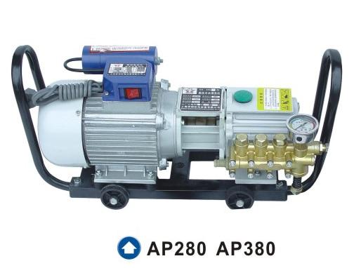 AP280 AP380 Also Named TG280 TG380 220V Industrial High Pressure All Copper Plunger Pump Cleaner