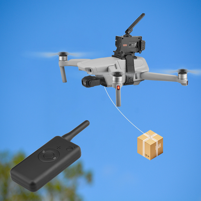 Universal Thrower for DJI Mavic 2 Pro Air 2 FIMI X8 SE Phantom 3 4 Fishing Bait Delivery Parabolic Drone Air-Dropping System