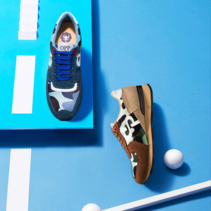 Image 5 - OPP Newbalance Shoes Men 2020 New Sneakers Balance 574 Genuine Leather Sports Sneakers Balance New Zapatillas Hombre Luxury Men