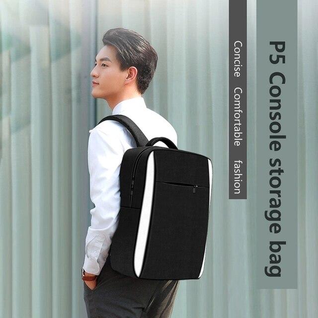 Travel Storage Bag for PS5 Console Shoulder Bag Protective Handbag For PS5 Game Backpack