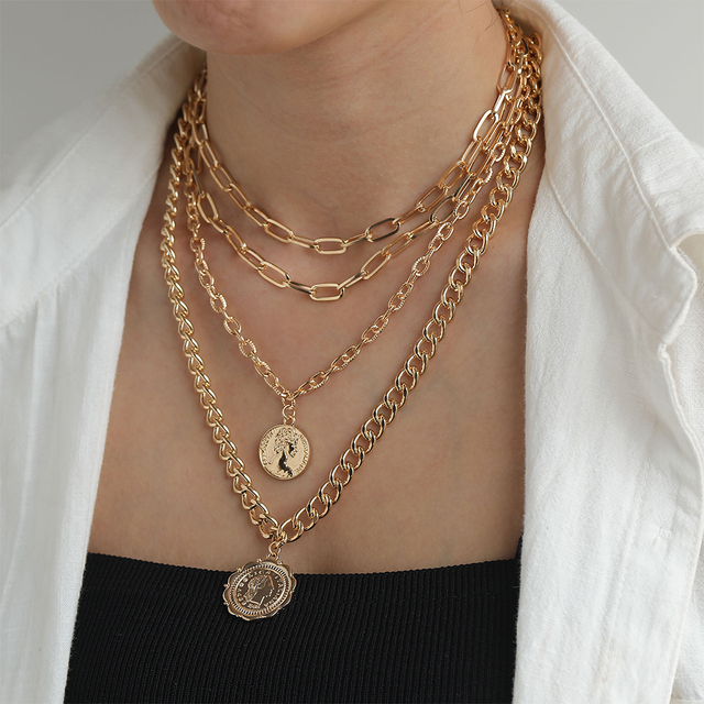 Layered Necklace Chain  3