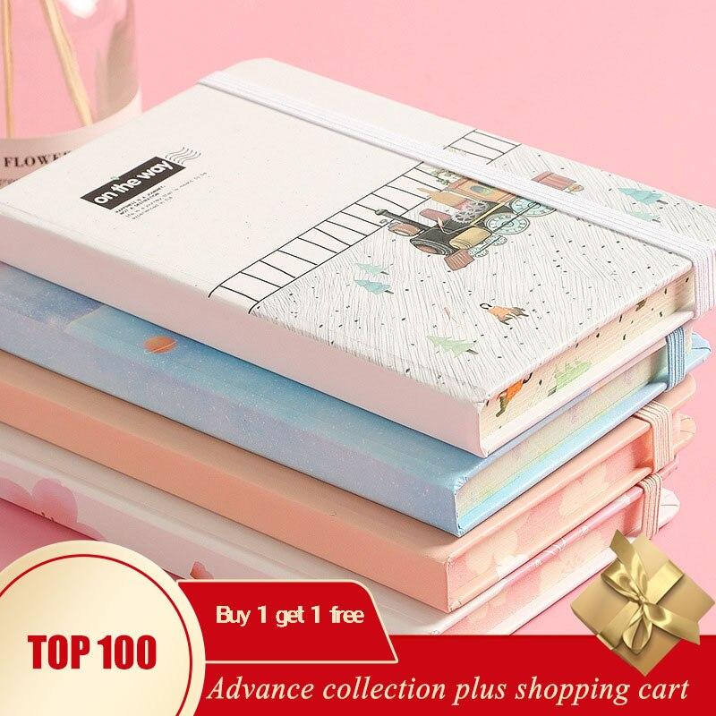 A6A7 Cute Unicorn Libreta Small Pocket Notebook Agenda Semanal Anime Korean Planner Organizer 2020 University Caderno Fichario