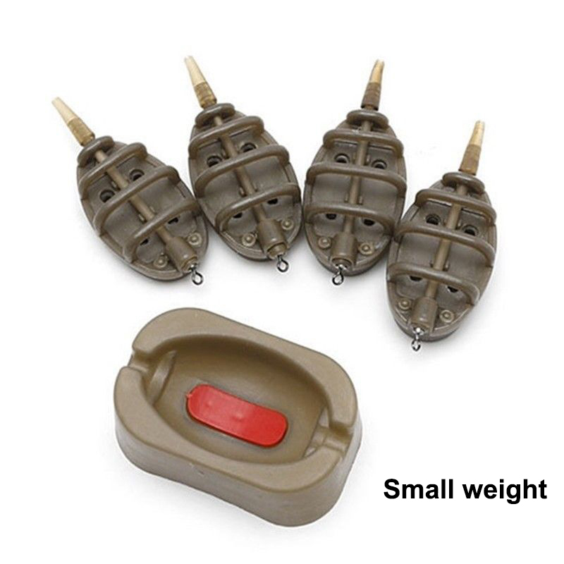 Outdoor Sports In Line European Style Fishing Lure For Carp Method Feeder Set