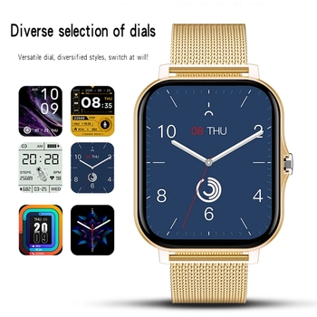 2021 New Women Smart watch Men 1.69″ Color Screen Full touch Fitness Tracker Bluetooth Call Smart Clock Ladies Smart Watch Women 3