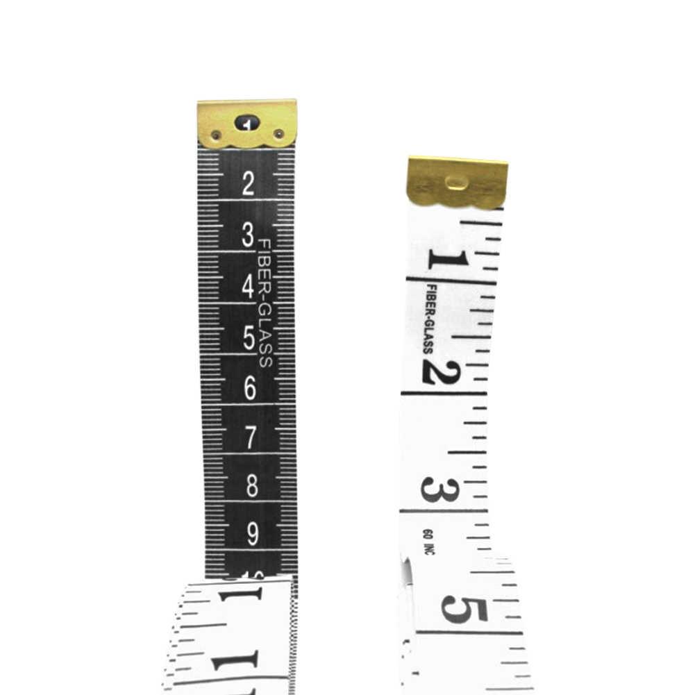 المزدوج الوجهين الجسم مسطرة قياس الخياطة القماش خياط الشريط لينة الشريط قياس أداة للأسرة قياس الصدر/محيط الخصر