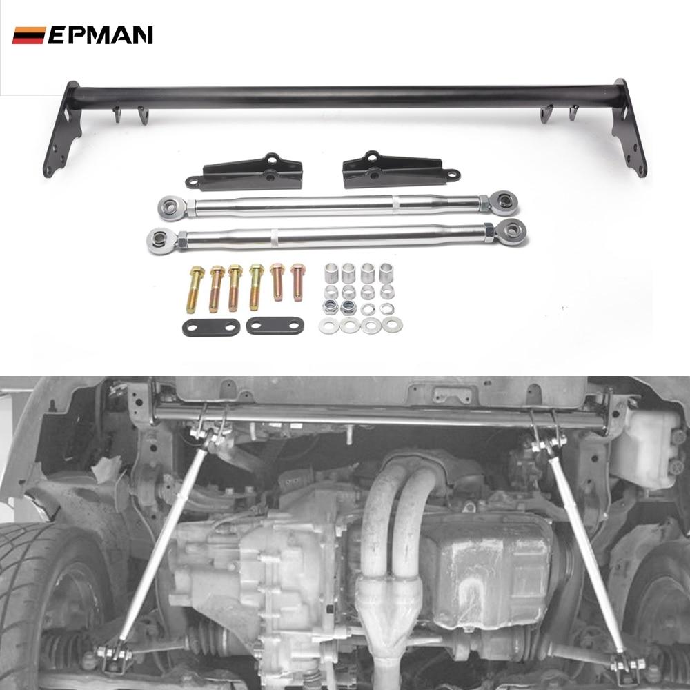 EPMAN Performance Car Front Traction Suspension Control Arm Tie Bar Kit For Honda Civic CRX EF K Series 88-91 EPLCA8891T
