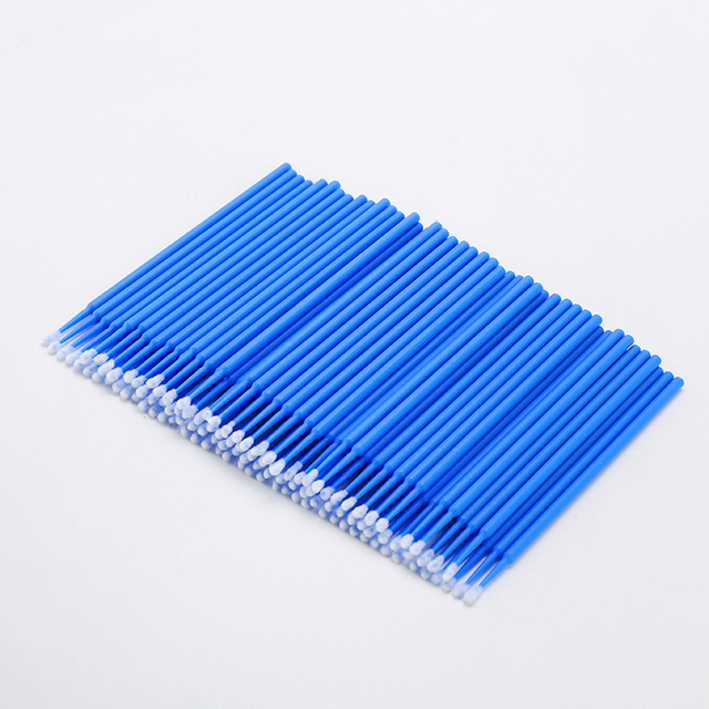 100PCS Tattoo Cotton Swab Lint Free Supplies Brush Microblading Micro Brushes Applicator Tattoo Accessories For Makeup 2