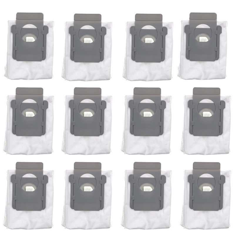 12 Piece For Irobot Roomba I7 I7+ Robot Vacuum Cleaner Dust Filter Bags Robotic Dust Collector Accessories