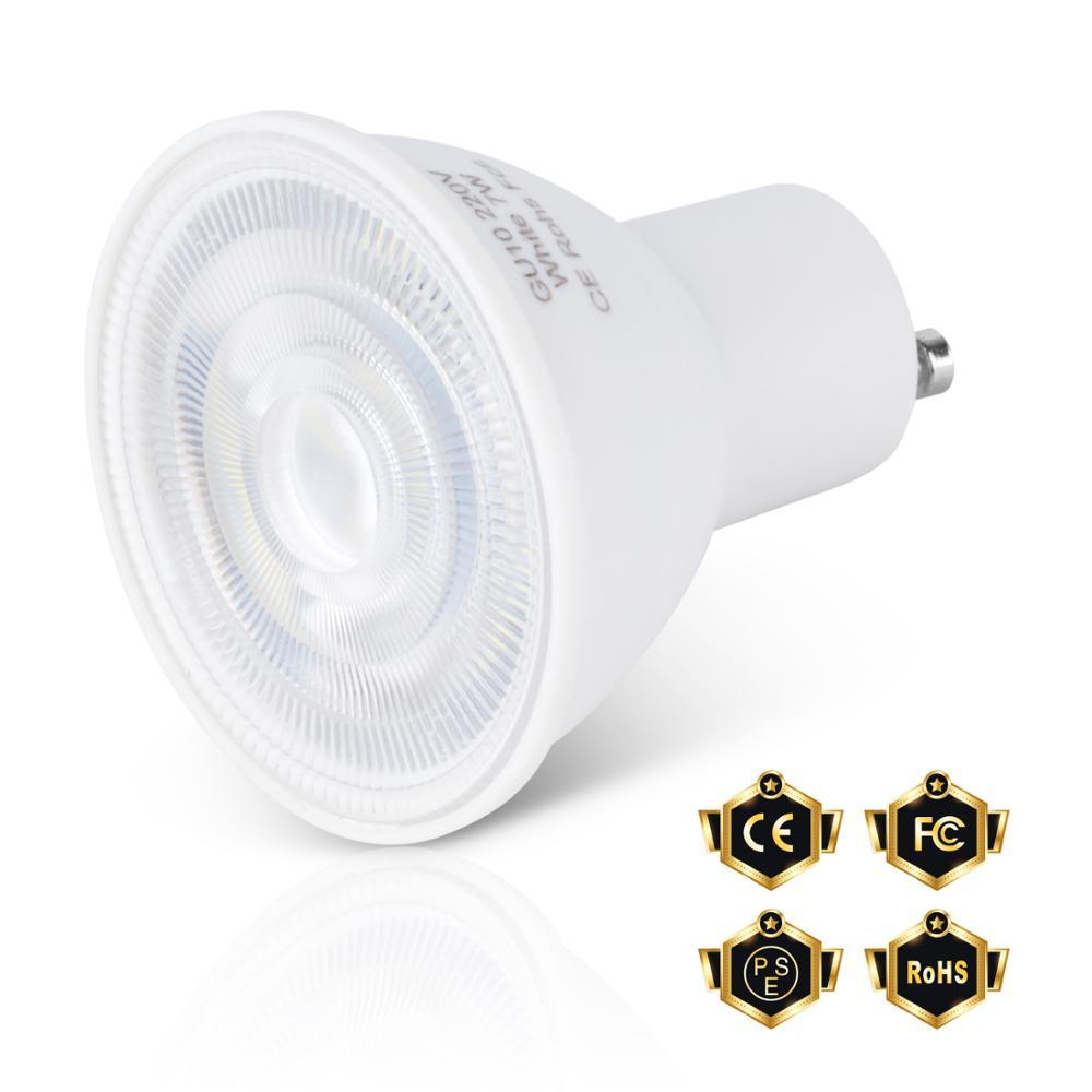 Spotlight GU10 7W MR16 Spot Light GU5.3 Lamapada LED E14 5W Light Bulb 220V LED Corn Lamp E27 2835SMD Bombillas House Led Light