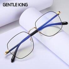 Очки с защитой от излучения унисекс металлическая оправа