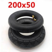 Alta qualidade 200x50 interno externo pneu 8 Polegada mini scooter elétrico pneu veículo elétrico 200*50 pneus acessórios