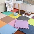 4Pcs Verdickung Matte für Kinder Kinder Schaum Boden kinder Nähen Kriechende Klettern Home Schlafzimmer Wohnzimmer Tatami Spielen matte