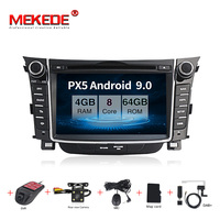 MEKEDE Android 9 Car multimedia player Head unit For Hyundai I30 Elantra GT 2012 2013 2014 2015 2016 radio tape recorder